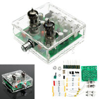 AC 12V 6J1 Valve Pre-amp Tube PreAmplifier Board  Headphone Amplifier + Case