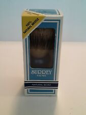 Surrey Vintage NEW Shaving Brush Made w/ Natural Boar Hair made in USA! Unused!