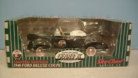 New Texaco Sky Chief Black 1940 Ford Deluxe Coupe Diecast Pedal Car By Gearbox