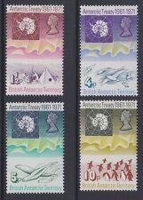 BAT 1971 Antarctic Treaty 10th anniversary complete mint set sg38-41 MNH