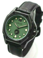 Lum-Tec Watch V9 Mens Green Dial Big Date Limited Edition Of 50 AUTH DEALER
