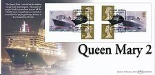 2004 Benham FDC BLCS 279 Ocean Liners Retail Booklet,with info card