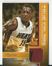 2012/13 Prestige Mario Chalmers Patch /25 Jersey True Colors