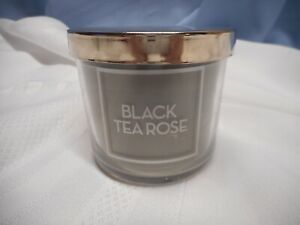 Bath & Body Works Candle BLACK TEA ROSE 1 WICK 4 OZ