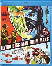 Flying Disc Man from Mars (Walter Reed) Region A BLURAY - Sealed