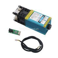 5.5W 450nm Blue Laser Module Laser Engraving and Cutting TTL Module 5500mw B-