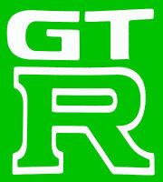 """""""GT R"""" VINYL Decals Sticker 5"""" X 5""""  BUY 2 GET 1 FREE"""