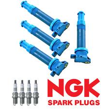 Performance Ignition Coil & NGK Spark Plug for Hyundai Accent Kia Rio 1.6L UF499