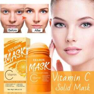 Charcoal Vitamin C Solid Mask Purifying Clay Stick Mask Oil Control & Clean Pore