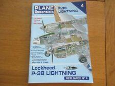 PLANE ESSENTIALS LOCKHEED P-38 LIGHTNING INFO GUIDE N°4 AVIATION TECHNIQUE