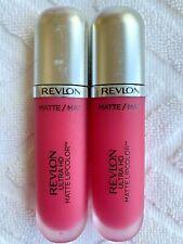 Revlon Ultra HD Matte Lipcolor, 615 Temptation Pink NEW Unsealed Free Shipping