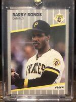 1989 Fleer #202 Barry Bonds Pirates