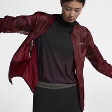 Mens NikeLab Gyakusou WMNS Packable Jacket 910885-600 Dark Team Red New Sz M
