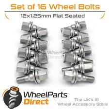 Original Style Wheel Bolts (16) 12x1.25 Flat For Citroen C3 [Mk2] 09-16