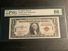 1935-A $1 HAWAII SILVER CERTIFICATE BILL Fr#2300 PMG 66 GEM UNCIRCULATED EPQ