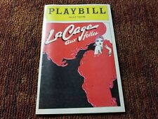 La Cage Aux Folles OPENING NIGHT! Gene Barry George Hearn BWAY playbill 1983