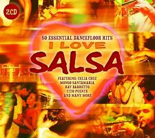 I LOVE SALSA (RAY BARRETTO, CELIA CRUZ, TITO RODRIGUEZ, ...) 2 CD NEUF