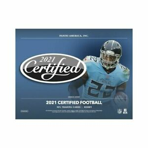 2021 PANINI CERTIFIED FOOTBALL FACTORY SEALED HOBBY BOX - PRE SALE -