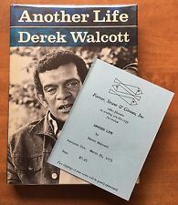 Another Life by Derek Walcott - First Edition - 1973 - Advance Review Copy