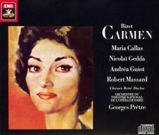 BIZET: CARMEN - Maria Callas, Nicolai Gedda, Andrea Guiot, Robert Massard NEW CD