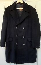 Vintage Lord English Cashmere Men's Overcoat