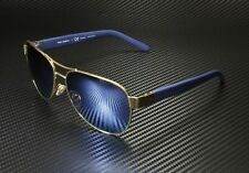 TORY BURCH TY6051 304122 Gold Blue Flash Polarized Mirror 60 Women's Sunglasses