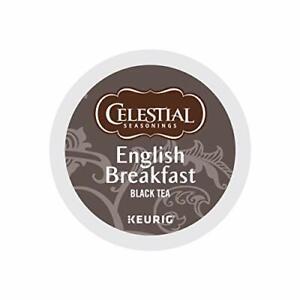 Celestial Seasonings, English Breakfast Black Tea, K-Cup Portion Pack for Keurig