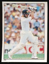 1984 Scanlens Cricket Sticker unused number 203 Steve Smith