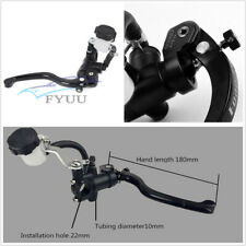 """CNC Motorcycle Hydraulic Brake Clutch Lever Master Cylinder Right Pump 7/8"""" 22mm"""