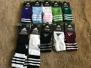 Adidas Soccer COPA Zone Cushion OTC Socks Assorted Colors and Assorted Sizes