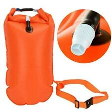 Swim Bubble Tow Float Buoy Inflated Air Bag Open Water Swimming Training Tool