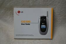 LG CG300 Flip Phone User Guide Book