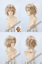 Anime Final Fantasy X Tidus Short Cosplay Costume Wig + Free CAP +Track NO
