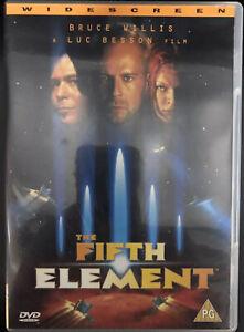 The Fifth Element DVD Bruce Willis, Gary Oldman Region 2, Disc Like New