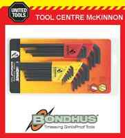 BONDHUS 22199 22pce METRIC & A/F LONG ARM HEX ALLEN KEY SET – MADE IN USA