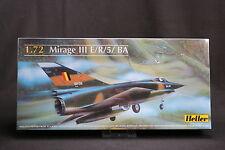 YR030 Heller 1/72 Model Aircraft 80323 Mirage III E/R / 5 / Ba