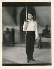 RAMON NOVARRO Sword Duel Original Vintage 1927 LOVERS MGM Studio Silent Photo