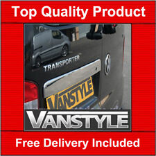 VW T5 TRANSPORTER TWIN DOOR GRAB HANDLE COVER QUALITY STAINLESS STEEL CHROME