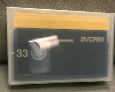 Lot of 13 Panasonic DVCPRO 33 Video Cassette Tapes AJ-P33M 33 Minutes Brand New