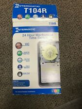 Intermatic T104R Electromechanical Timer,24 Hour,Dpst Brand New