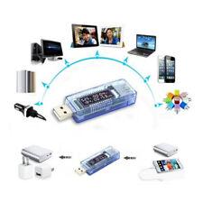 USB Charger Medico MOBILE POWER Rivelatore Tester Batteria Tensione Corrente Meter 、 DE