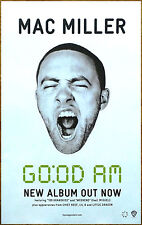 MAC MILLER GO:OD AM 2015 Ltd Ed New RARE Poster +FREE Hip-Hop/Rap Poster!