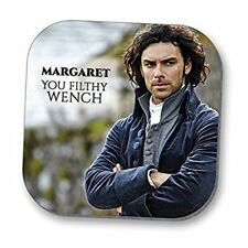 Poldark Personalised Coaster (Filthy wench)