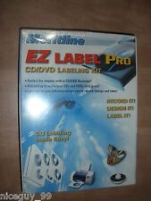 EZ Label Pro CD/DVD Labeling Kit NEW