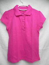 NWT - TCP Girls Buttoned HOT-Pink School Uniform S/P (5-6) 2062772