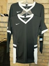 New LOT OF TWO!!! Nike Hyperace 1-SS 1- LS Jersey Women's Grey Dri-Fit Shirt