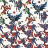 100% Cotton Digital Fabric Justice League Superhero Superman Batman The Flash