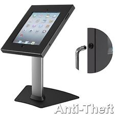 iPAD 2 3 4 AIR ANTI THEFT TAMPER SECURE STAND KIOSK TABLE TOP DESK HOLDER MOUNT