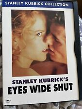 Eyes Wide Shut (Dvd, 2001, Stanley Kubrick Collection Cult Classic Film