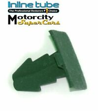 GTO TRANS AM CUTLASS 442 RADIATOR/ INNER FENDER COWL SEAL PUSH CLIPS OLIVE 1PC